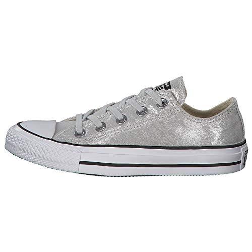Converse CTAS OX Damen High Sneaker Türkis, Größenauswahl:42.5 (Türkis Schuhe Converse)