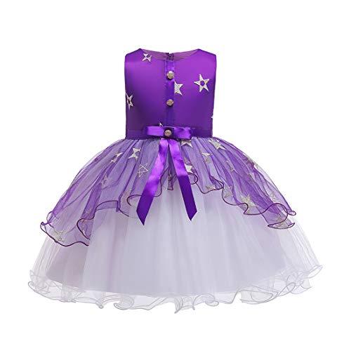 Dress Kostüm Klavier Fancy - TAAMBAB Mädchen Geburtstag Prinzessin Kleid Kinder Host Abend Blumenmädchen Hochzeit Klavier Kostüm
