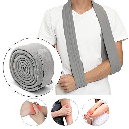 Slimerence Arm Schulter Sling, Verstellbarer Arm Schulter Schlinge für Ruhigstellung und Stabilisierung des Arms, Schulter und Handgelenk im Anschluss an Verletzungen one