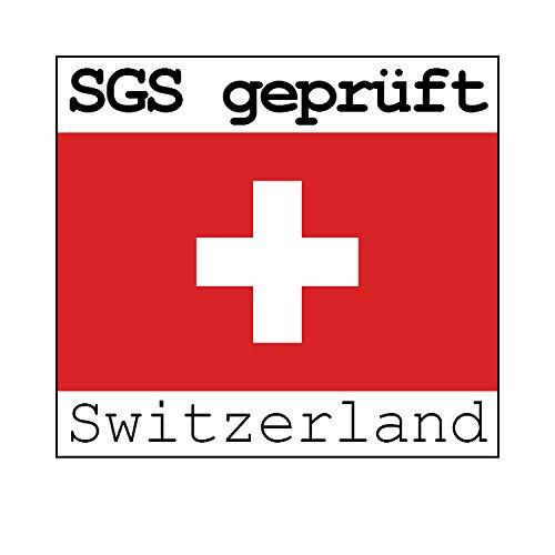 Albatros Freischwinger Murano 2-er Set Rot, SGS geprüft, Elegante Esszimmerstühle/Schwingstühle, bequem gepolstert - 4