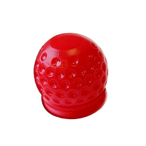 WFV2010 3 x Abdeckung Anhängerkupplung rot Golfball Schutzkappe Kappe Anhänger Kupplung -