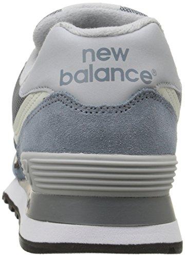 New Balance WL574V1, Baskets Basses Homme Bleu (Light Blue/White)
