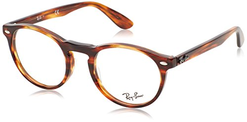 Ray-Ban RAYBAN Herren Brillengestell 5283, Braun (Havana), 47