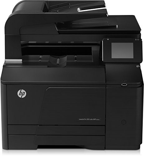 HP LaserJet Pro 200 M276nw e-All-in-One Farblaser Multifunktionsdrucker (A4, Drucker, Scanner, Kopierer, Wlan, Ethernet, USB, 600x600)