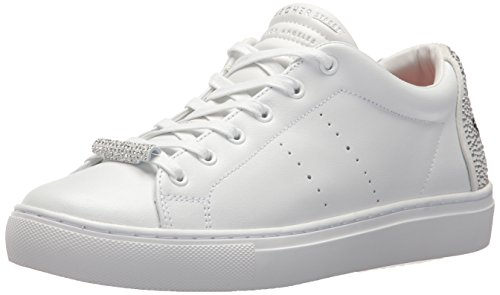 Skecher Street Women's Side Street Fashion Sneaker, White, 10 M US