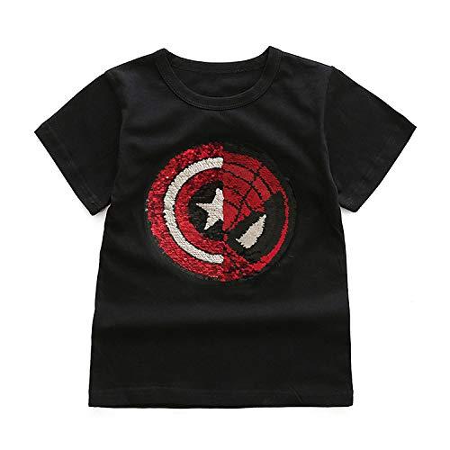 Camiseta Spiderman y Capitán América