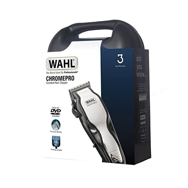 Wahl ChromePro Mains Hair Clipper Set 7