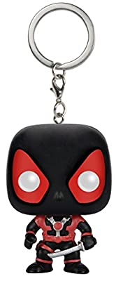 Funko - Pocket POP Keychain: Marvel - Black Deadpool