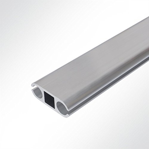 Aluminium Verbundprofil Doppelkederschiene 22x59mm Länge 1 Meter