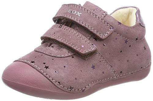 Geox B TUTIM B, Zapatillas para Bebés, Rosa Dk Pink C8006, 20 EU