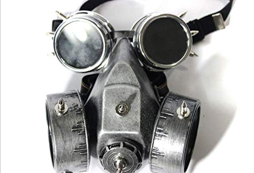 XINXIN Steampunk Maskerade Retro Gas Maske Halloween Cosplay Anime Party Requisiten