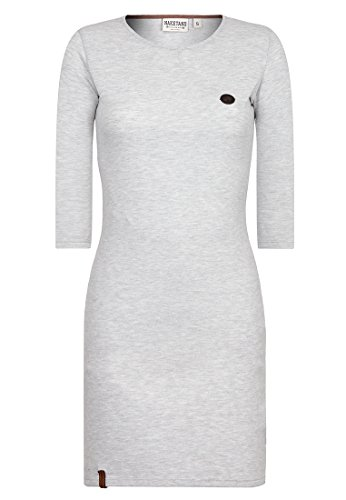 Naketano Female Dress Why do we Fall II Stone Grey Melange, XS