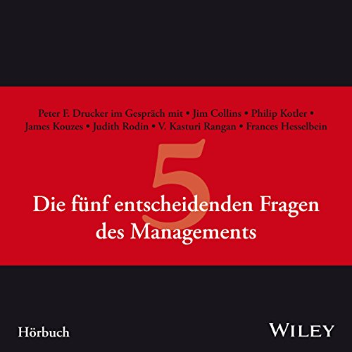Buchseite und Rezensionen zu 'Die fünf entscheidenden Fragen des Managements' von Peter F. Drucker