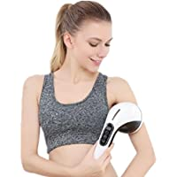 GJA Masaje vibrador barra de masaje dispositivo recargable inalámbrico cuello cintura y piernas cuerpo multifuncional amasado