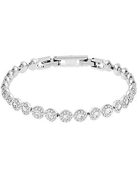 Swarovski Damen-Armband Metalllegierung Glas weiß 507117