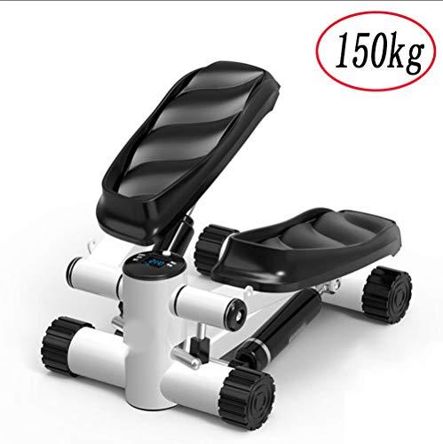 VOVIJ Hydraulic Stepper, Max Load 150kg Dämpfer Einstellbarer Widerstand Schützen Sie Ihre Knie und trainieren Sie Ihren Körper für Anfänger und Erwachsene