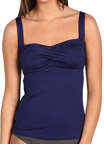 Ecute Damen Tankini Top Push Up Badeanzug Swimsuit -