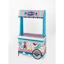 Candy Bar Sin Bandeja Vacío La Asturiana - Carrito de Mesa Dulce en Cartón Publicidad de