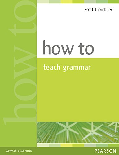 How to teach Grammar Book por Jeremy Harmer