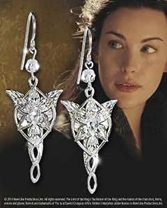 Island Gifts - Lord Of The Rings Pochette cadeau - Le Seigneur des Anneaux d'oreilles en cristal du Soir Hobbit Elven princesse Arwen