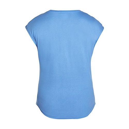 CANTERBURY Damen CCC Text Logo T-Shirt Blau - Marina