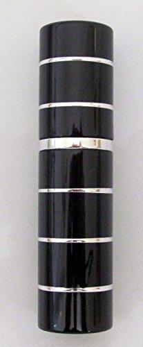 Rechargeables Parfum Atomiseur atomiseur Après-rasage Voyage Spray Miniature Bouteille 5ml (Noir et argent)