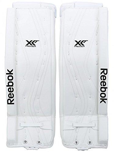 Reebok Premier X28 Goalie Leg Pads Senior 'Limited Edition', size:34 + 3 Zoll;color:white
