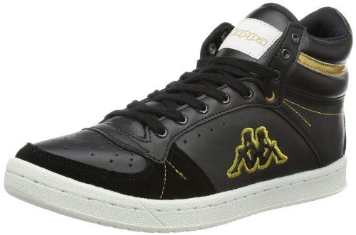 Kappa LARA, Sneaker donna nero (Schwarz (1145 BLACK/GOLD))