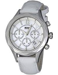c6606274091d Hugo Boss 1502167 - Reloj analógico de cuarzo para mujer con correa de  piel