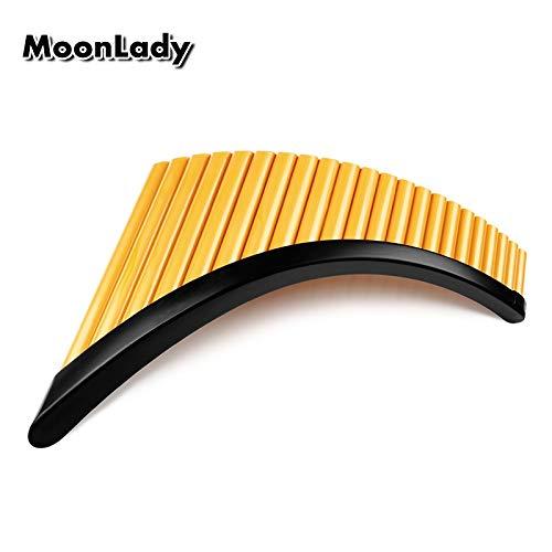 HENGTONGTONGXUN Rechts / Links-Hand Folk Instrument UU ABS Plastik Panflöte 22 Rohre G Key Woowind Instrument Panpipes Flauta Handmade Panflöte ( Color : Left Hand )