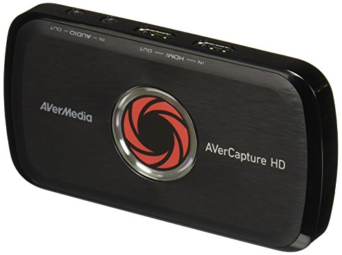 Price comparison product image AVerMedia Live Gamer Portable Lite - Get started on YouTube & Twitch - Game Streaming and Game Capture for PS4, Xbox One, Nintendo Switch - High Definition 1080p, Ultra Low Latency, USB, H.264 Hardware Encoding (GL310)