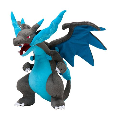 Peluche de 25,4 cm de Mega Charizard X de Pokemon Center Japón