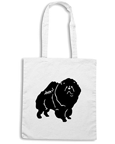 t-shirtshock-borsa-shopping-fun0306-15g-chow-dog-decal-68142-taglia-capacita-10-litri