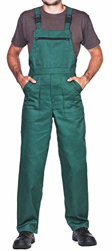 ProWear Arbeitslatzhose Herren Größen S-XXXL Arbeitshose - Made in EU - Latzhose arbeits Latzhose (3XL, grün)