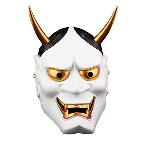 Offizielle Kostüm Scary - Innerternet Halloween Karneval Theater Horrormaske Cosplay Scary Horrible Nonne Mask Schmelzendes Gesicht Latex Kostüm Maskerade