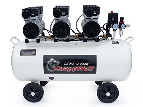KnappWulf-KW2100-Compressore-ad-aria-con-3-motori-da-750-W-con-serbatoio-da-100-l