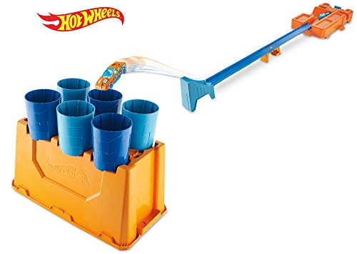 Hot Wheels GCF91 Track Builder System Fässer-Stunt Box (Builder Track Hotwheels)