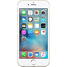 "Apple iPhone 6S - Smartphone libre iOS, Pantalla 4.7"", 64 GB (Dual-Core 1.4 GHz, 2 GB de RAM, cámara de 12 MP), (Reacondicionado Certificado por Apple), Dorado (Gold)"