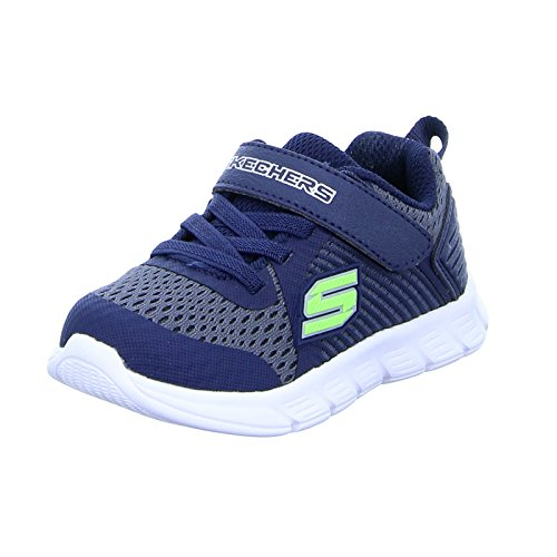 314b81eec97 Skechers Boys Comfy Flex Hyper Stride Lightweight Sport Trainers Shoes