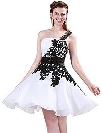 Vestidos Blancos Por la Rodilla Cinturón decorado Vestido De Moda Sin Cuello 34