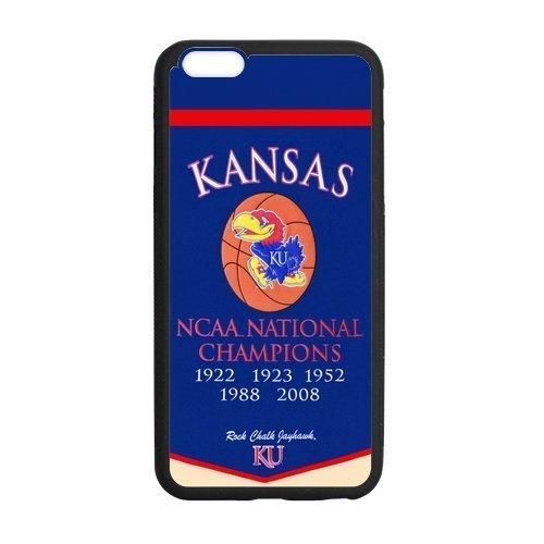Custom NCAA Kansas Kansas Ku Logo Coque pour Apple iPhone 611,9cm