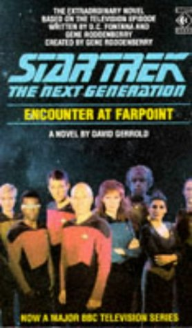 Cover of Encounter at Farpoint (Star Trek: The Next Generation)