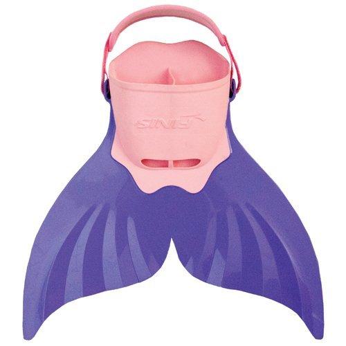 FINIS Kinder Monofin Recreational Mermaid für Kinder, purple, (US) M: 1-6, F: 2-7, 1.30.012.110