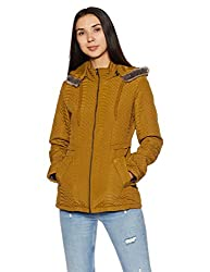 Fort Collins Womens Cape Hoodie (6638 AZ-Mustard_L)