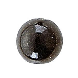 Gütermann / KnorrPrandell 6088619 - Perlas Negro de 4 mm, 100 Unidades / Bolsa Importado de Alemania