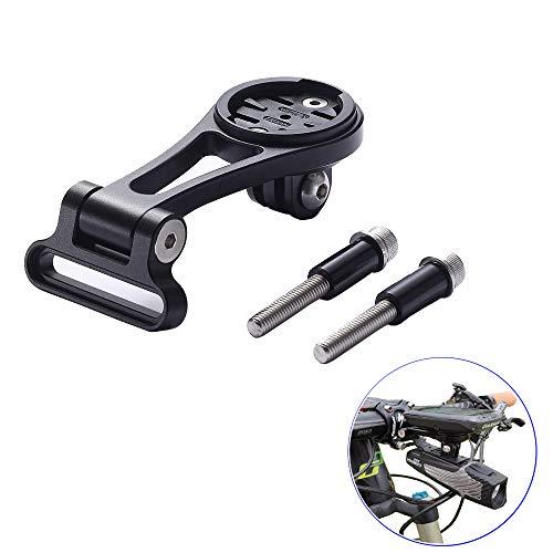 Best Tek Garmin Edge verlängerte Fronthalterung für GoPro Fahrradlenker für NiteRider Adapter, GoPro Sports Action Kamera, Garmin Edge 25 130 200 500 510 520 800 810, Updated Version