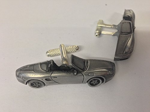 porsche-boxster-3d-cufflinks-classic-car-pewter-effect-cufflinks-ref192