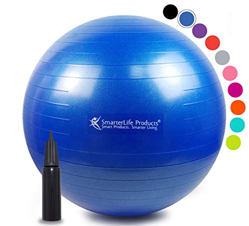 * * La venta * * bola de estabilidad Premium-Bola para Fitness, pérdida de peso, Core resistencia, Crossfit-Top Estimada y 1pelota de yoga pelota de Pilates--Por smarterlife Productos®