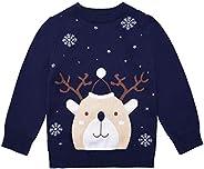 ReliBeauty Jersey Navidad niño niña Manga Larga Invierno