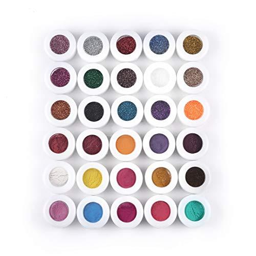 Funnyrunstore Profesional Colorido 30 Colores Sombra
